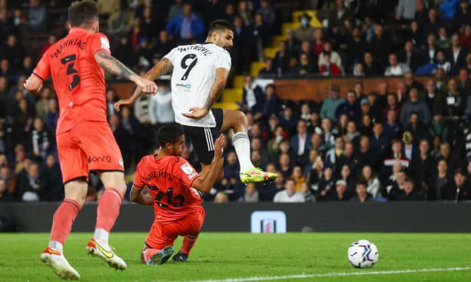Aleksandar Mitrovic was outstanding for Fulham against Swansea.