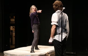 Pale imitation … Hamlet in Bed at the Pleasance
