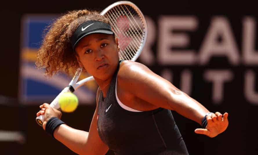 Naomi Osaka has been questioned about her struggles on clay, including her recent early exit at the Italian Open.