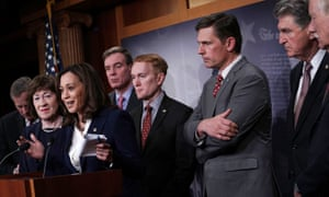 Senate intelligence committee leaders presented their findings and security recommendations to protect the nation's election infrastructure on Tuesday.