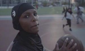 Toronto Raptors team-branded hijab