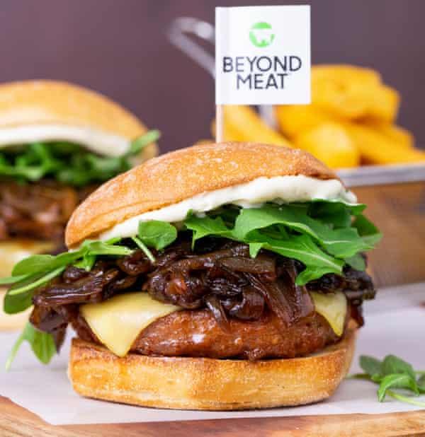 Beyond Meat's Beyond Spring burger.