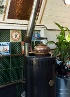 Jonah and Cressida's stove.