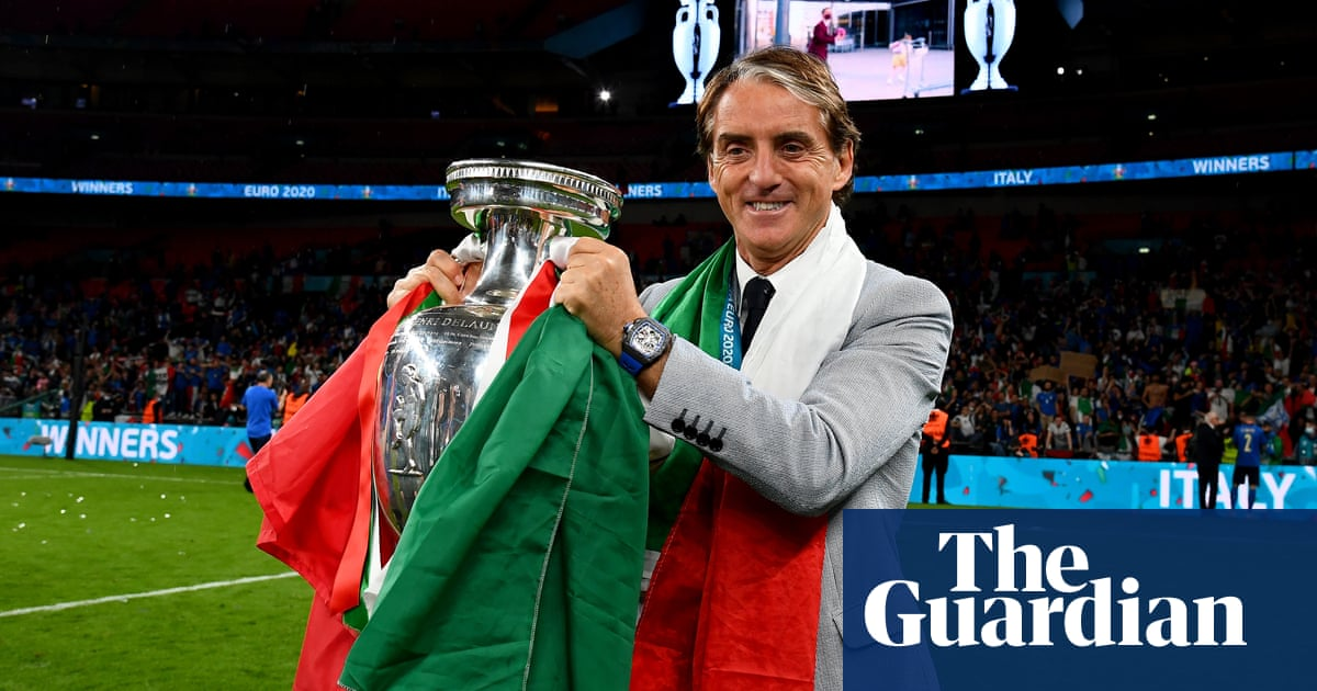 Roberto Mancini honours promise to make Italy champions of Europe