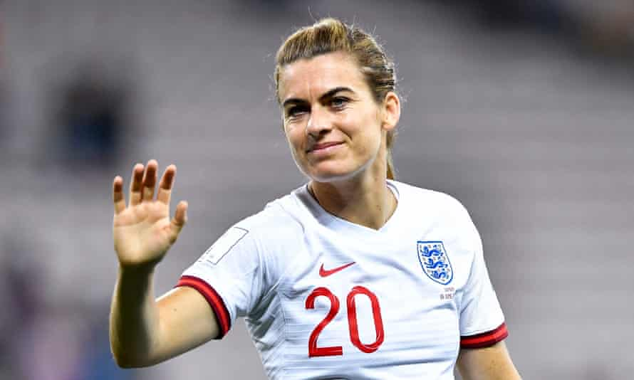 Karen Carney was described by England manager Phil Neville as 'an amazing person' and says she wants to give something back to football after retiring.