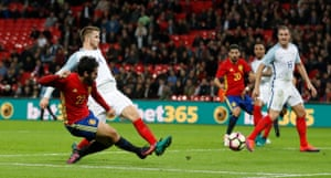 Isco scores the late equaliser.