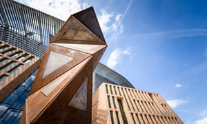 Architectural pick'n'mix … the new Francis Crick Institute, in London.