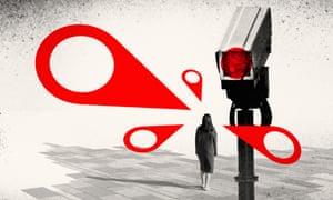 Surveillance camera illustration