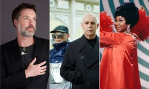 Rufus Wainwright, Pet Shop Boys and Aretha Franklin.