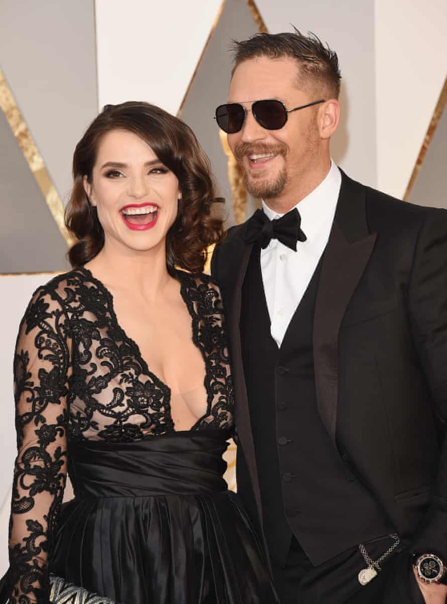 Tom Hardy and Charlotte Riley.