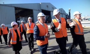 Malcolm Turnbull campaigns in  Fremantle