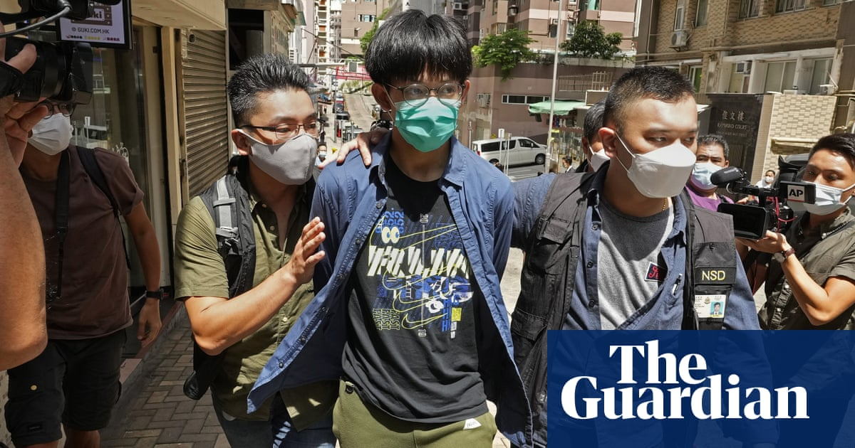 Four Hong Kong students arrested for 'advocating terrorism'