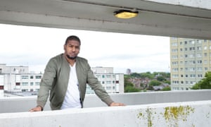 Marcus Knox-Hooke on the Broadwater Farm estate in London. 'I had no idea it was going to escalate in such a way.'