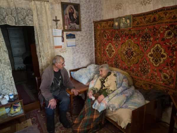 Bavakan Avestiyan, 80, and Razmik Avetisyan, 83, pictured in 2017.