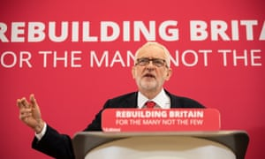 Jeremy Corbyn made his speech in the key marginal Tory-held seat of Corby, where he made the case that the UK's problems run much deeper than Brexit.TH