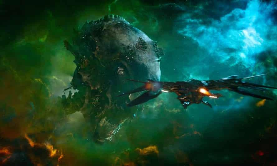 Destructive force … Guardians of the Galaxy.