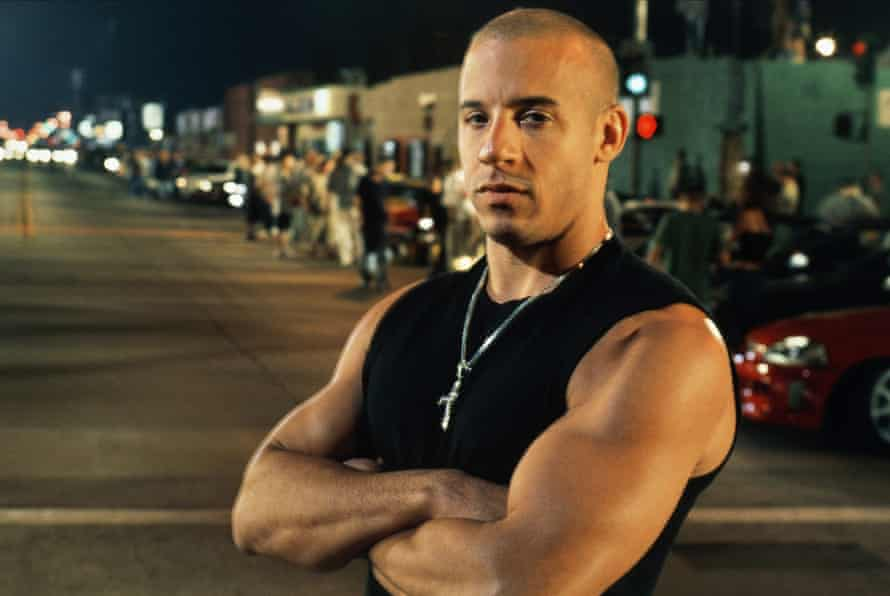 Vin Diesel in The Fast and the Furious.
