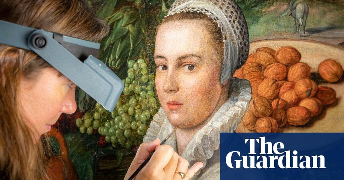 Restoration work wipes smile off the face of Dutch vegetable seller