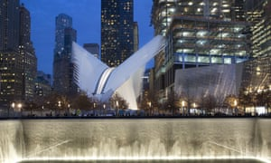 The transportation hub was originally budgeted at $2 billion. Cost overruns have been blamed on the architect's demands and the logistical complexity of building it while the Sept. 11 memorial and office towers were also under construction.