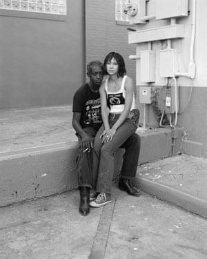 Young couple, Austin Texas 2020