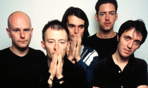 Radiohead in June 1997, the month OK Computer was released.