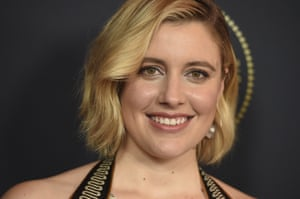 It's not as if the films by and about women aren't there … Little Women director Greta Gerwig.