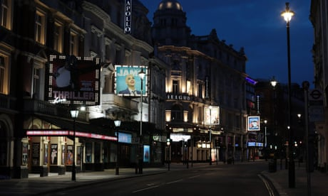 Unhappy hour: London's West End during lockdown - in pictures