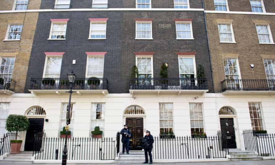 Property owned by Tony Blair and his family.