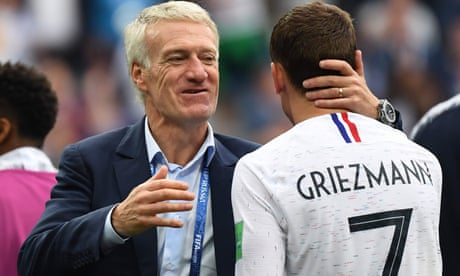 We had more mastery than Uruguay but France can be better, says Deschamps