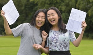 Identical twins, Sophia and Victoria Xu-Tang from Didsbury secured five grade 9s, 16 A*s and an A* with distinction between them.