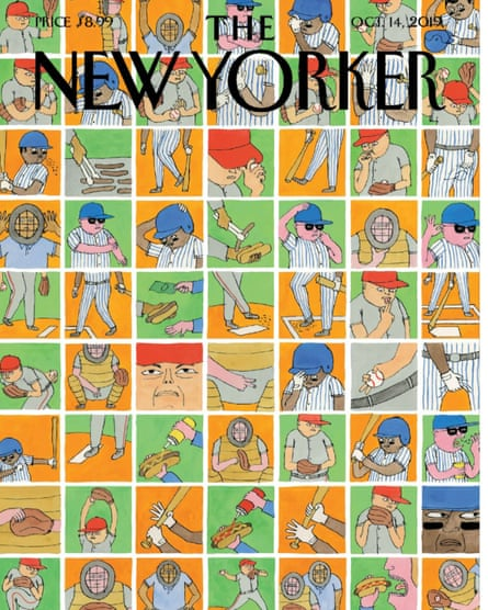 Ed Steed cover for New Yorker October 2019