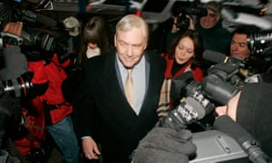 Conrad Black in Chicago for sentencing, after his racketeering and fraud trial in 2007.