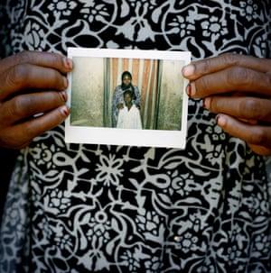 Fatimatou Amadou, 35, and her nephew, Osman, 8