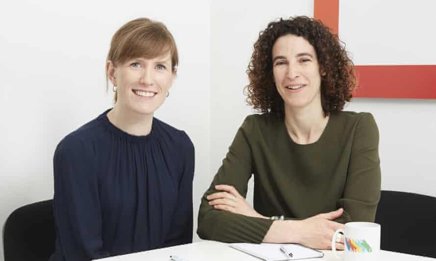 Natalie Acton (left) and Ella Joseph
