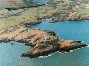 Home & away properties near cliffs, in Anglesey, Wales