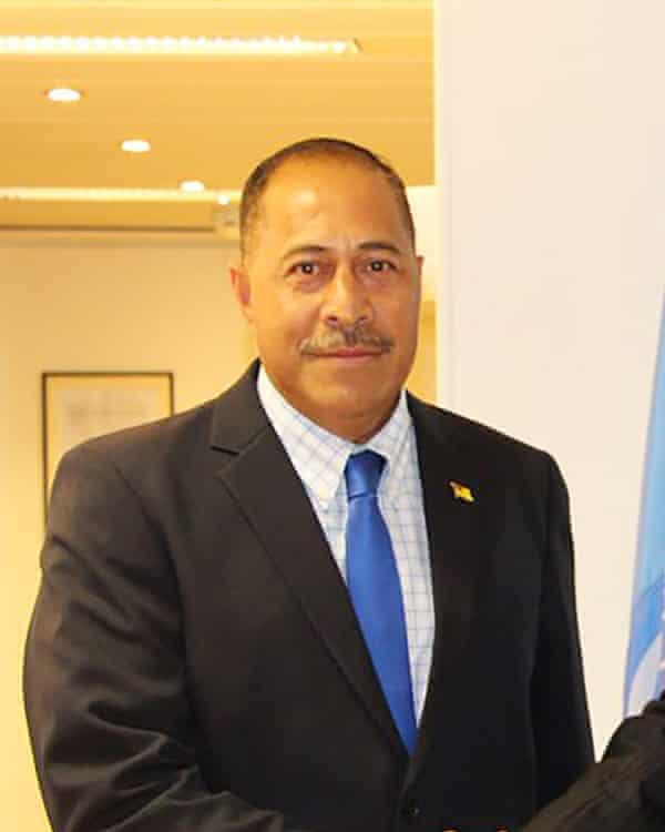 Niue premier Dalton Tagelagi.