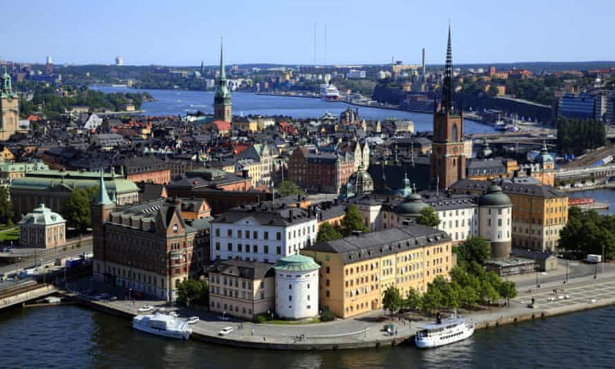 A view of Stockholm's Gamla Stan (old town)