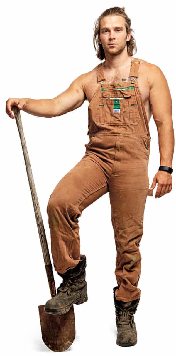 Construction worker Lex Lederman