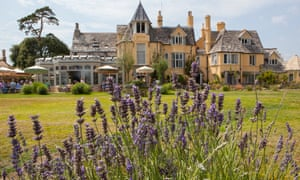 The Pig – On The Beach hotel, in Dorset