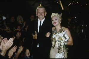 1994: Madonna with Jean-Paul Gaultier