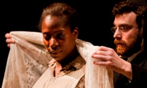 Tanya Moodie with Ilan Goodman in Lynn Nottage's Intimate Apparel in 2014