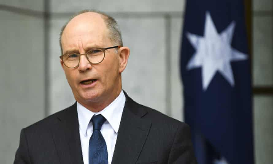 Australia's chief medical officer Paul Kelly described the AstraZeneca vaccine as 'very safe'.