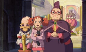 A still from Mary and the Witch's Flower.