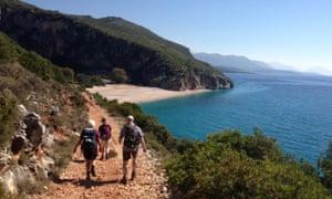 Dhermi Beaches. Wild Frontiers Albania Coastal trip