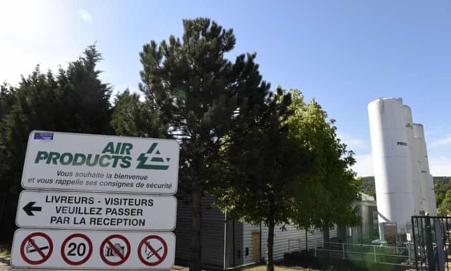 Air Products factory near Lyon