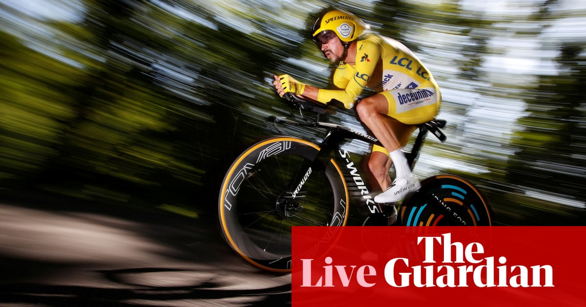 Tour de France 2019: Alaphilippe storms to stage 13 time trial win