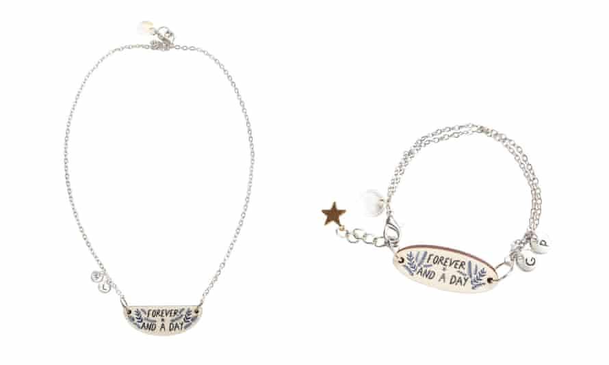 Bonbi Forest necklace and bracelet