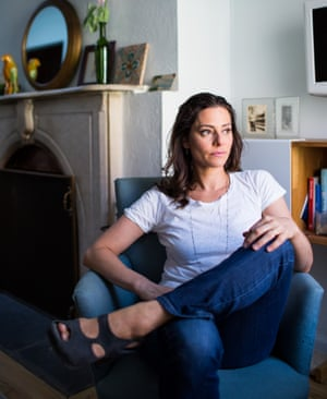 Writer Ariel Levy at home in New York