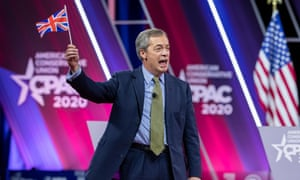 Nigel Farage at CPAC today.