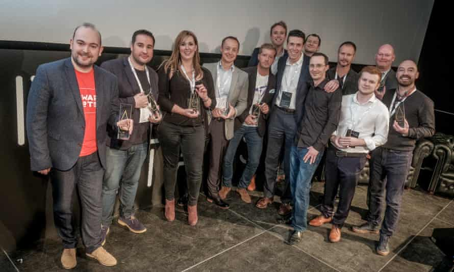 The winners of Tech North's Northern Stars competition.